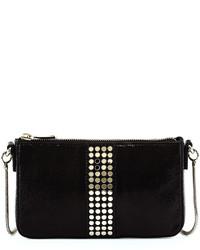 Milly Studded Crossbody Bag Blacksilver
