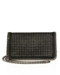 Stella McCartney Studded Faux Leather Crossbody Bag