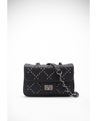 Forever 21 Studded Faux Leather Crossbody