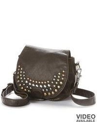 Mudd Studded Flap Crossbody Bag