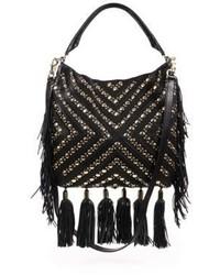 Rebecca Minkoff Studded Fringed Crossbody Bag