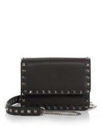 Valentino Studded Leather Crossbody Bag