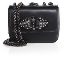 Christian Louboutin Sweet Charity Baby Spiked Leather Chain Crossbody Bag