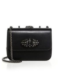 Christian Louboutin Sweet Charity Studded Leather Crossbody Bag