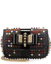 Christian Louboutin Sweety Charity Studded Crossbody Bag Blackmulti