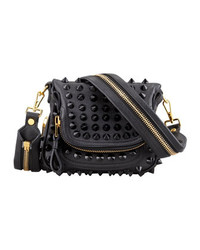 Tom Ford Jennifer Mini Studded Crossbody Bag Black