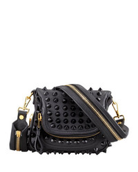 Tom Ford Jennifer Studded Leather Mini Crossbody Bag