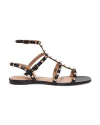 Valentino Garavani The Rockstud Leather Sandals