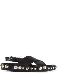 Marc Jacobs Crisscross Strap Sandals