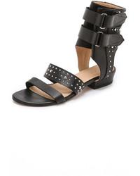 IRO Xilca Studded Flat Sandals