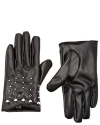 Forever 21 Faux Leather Stud Gloves