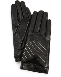 Mackage Gaby Leather Tech Gloves