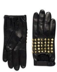 Portolano Stud Leather Gloves