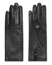 Saint Laurent Studded Leather Gloves