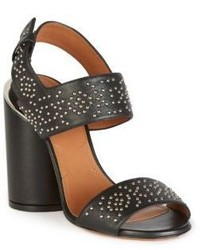 Givenchy Carpet Pattern Studded Leather Sandals