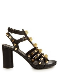 Balenciaga Giant Studded Leather Gladiator Sandals