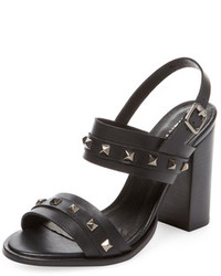 Haiza Studded Leather Sandal