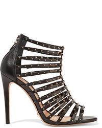 Schutz Jessee Studded Leather Sandals