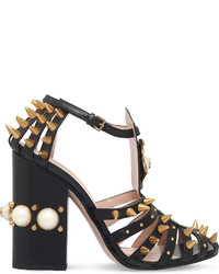 Gucci Kendall Studded Leather Sandals