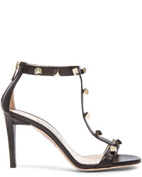 Jimmy Choo Lamba Cube Studded Leather Heels