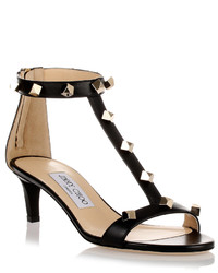 Jimmy Choo Lamba Studded Leather Sandal