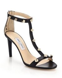 Jimmy Choo Lamba Studded Leather Sandals