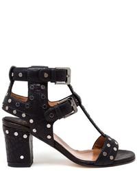 Laurence Dacade Studded Block Heel Sandals