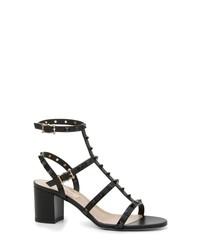 Valentino Garavani Rockstud Block Heel Sandal