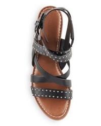 Sigerson Morrison Liz Studded Leather Sandals