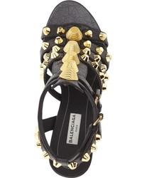 Balenciaga Studded Cage Sandal