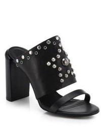See by Chloe Studded Leather Slides