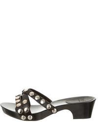 D&G Studded Slide Sandals