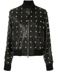 Diesel Black Gold Lilles Studded Jacket