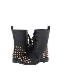 Chooka Studded Stomper Lace Up Boots