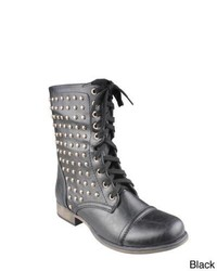 Refresh Davina 01 Studded Combat Boots