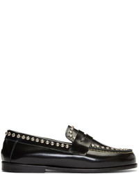 Black fenzay studded loafers medium 5218868