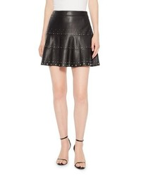 Parker Alex Studded Leather Skirt