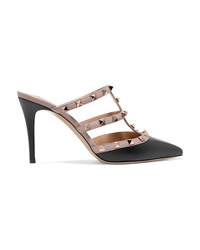 Valentino Garavani The Rockstud Leather Mules
