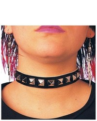 Costume craze ladies studded costume choker gothic costume accessories medium 318845