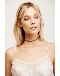 Free People Studded Leather Choker