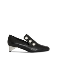 Burberry Stud Detail Patent Leather Pumps