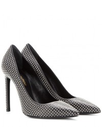 Saint Laurent Studded Leather Pumps