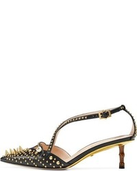 Gucci Unia Studded Pump