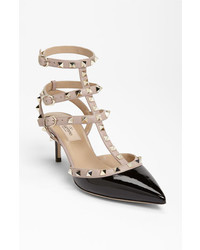 Valentino rockstud pump black 85us 385eu medium 449029