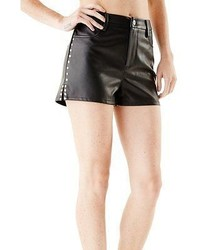 Gbyguess amarissa faux leather studded shorts medium 322398