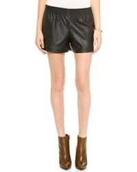Rebekah faux leather shorts medium 119759