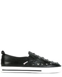 RED Valentino Star Studded Slip On Sneakers