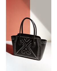 BCBGMAXAZRIA Izabella Studded Leather Tote