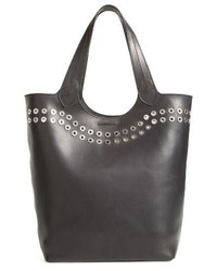 Frye Cassidy Studded Leather Tote Black