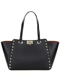 Karl Lagerfeld Paris Karl Lagerfeld Manon Leather Studded Tote